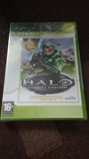 Halo Combat Evolved New & Sealed and guide