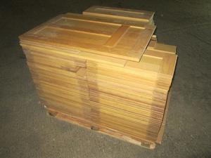 Job-Lot Of One Pallet With 75 Pieces Of SOLID OAK Cabinet Doors. QUALITY. I Want A Quick Sale.