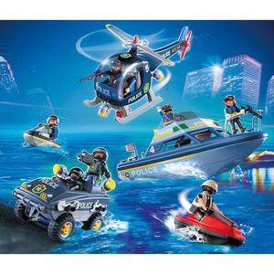 Playmobil Police Tactical Unit Set Play Set with Action