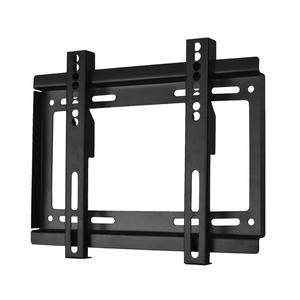 """TV WALL BRACKET MOUNT FIXED """" WITH ALL FIXINGS SKY PC NEW"""