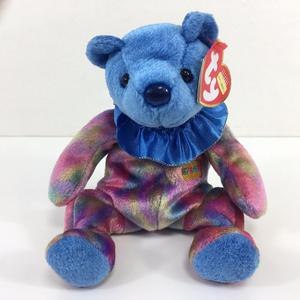 TY Beanie Baby September the Happy Birthday Cake Bear Soft