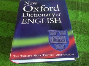 NEW OXFORD DICTIONARY of ENGLISH