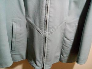 ladies leather jacket Blue Size M, New without tags