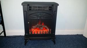 BLYSS ELECTRIC STOVE HEATER WITH REMOTE CONTROL AND INSTRUCTIONS