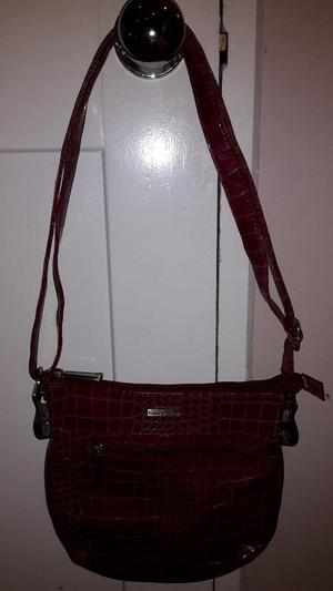 Gracie Mae dark red shoulder bag