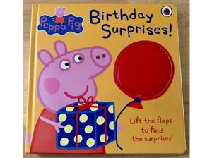 Peppa Pig lift the flap Birthday book in Bracknell