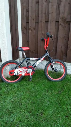 "Boys 16"" bike in excellent condition can deliver"