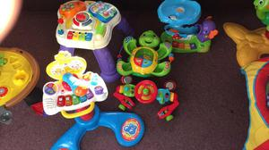 Vtech toy bundle all less than a month old - perfect conditi