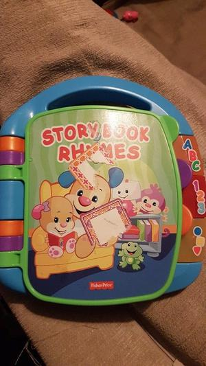 Fisher price story book