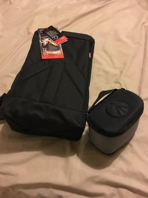 MANFROTTO BRIO 10 STILE PLUS CAMERA SLING BAG. NEW WITH TAGS