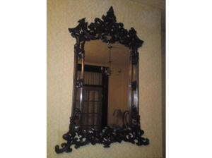 Mirror Large Gothic Mahogany mirror in Middlesbrough