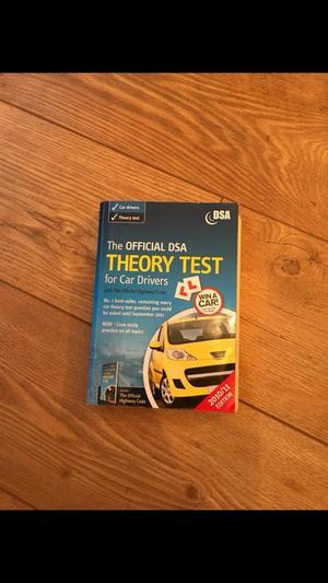 THEORY TEST BOOK!!!