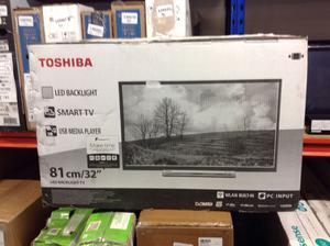 "Toshiba 32LDB LED Full HD p Smart TV, 32"" with"