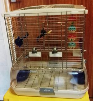 VISION BIRD CAGE SUITABLE FOR BUDGIES CANAIRIES & LOVEBIRDS