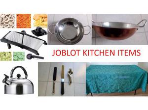 JOBLOT NEW KITCHEN ITEMS LEICESTER in Leicester