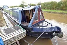 57ft Narrow boat by Ledgard boat builders