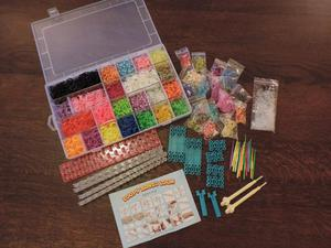 A Job lot of Loom Bands And Accessories