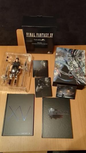 FINAL FANTASY XV 15 ULTIMATE COLLECTOR'S EDITION (PS4) + The Complete Official Guide-Collector's Ed