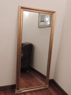 Gold Stylish Large Mirror (Delivery)