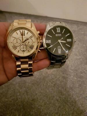 Michael Kors and Hugo Boss Watch