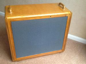 Speaker cab for electric guitar