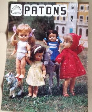 Patons Dolls Clothes Vintage Knitting Patterns