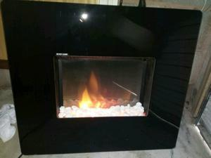 Dimplex sunken electric wall fire and heater