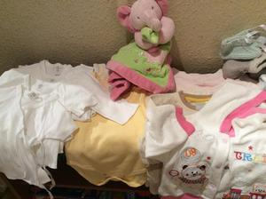 Many baby clothes, age 0-12 months. £0.50 each item