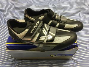 Vittoria MSG Cycling Shoes, Cleats, Pedals (UK 10, EU 44)