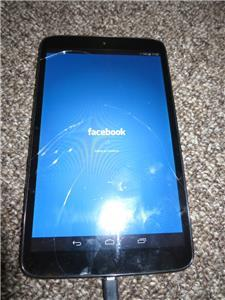Vodafone Smart Tab 4G 8 inch tablet **cracked screen**