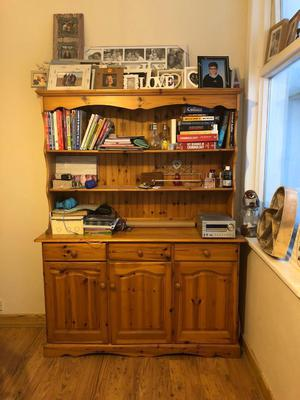 Pine Welsh dresser shabby chic project
