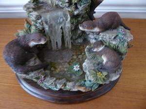 Otter Haven By Country Artists Sculpture