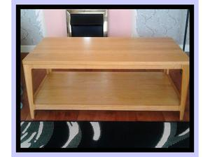 solid light oak coffee table in Swansea