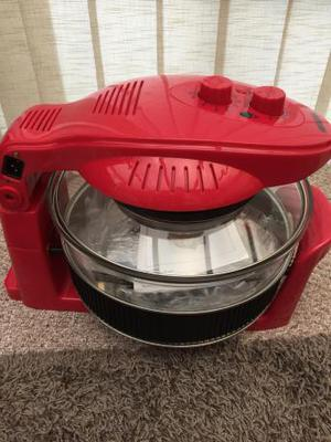 Brand New Halogen Oven RED