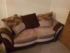 2 sofas/sofabed excellent condition