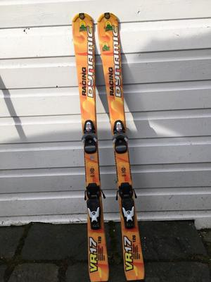 Kids skis 120cm waxed and serviced