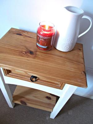 Solid pine hallway / side table