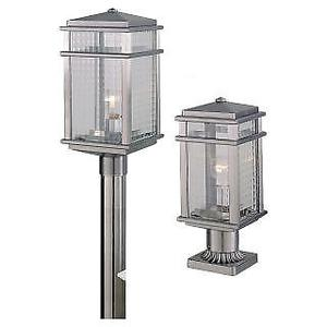 Feiss OLBRAL-LED Mission Lodge 1 Light LED Outdoor Post
