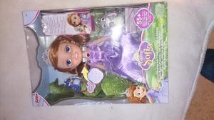 Disney Sofia The First Doll New Speaks Sings