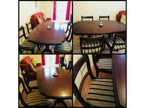 Wooden Dining Table with Chairs for 4 in Nottingham