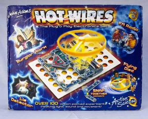 HOT WIRES John Adams Electronics Kit (boxed,with instructio
