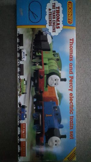 Hornby Thomas and Percy Electric Train Set