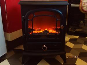 NOW REDUCED log effect fire