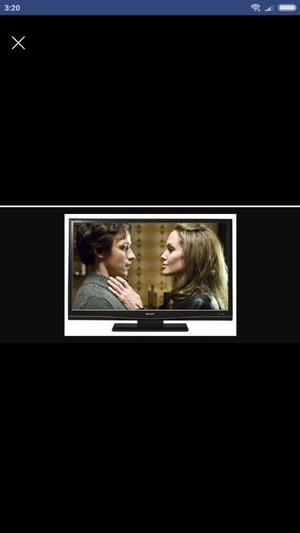 """Sharp Aquos LC-46D83M 46"""" LCD TV Television with Stand & Genuine Remote Control"""