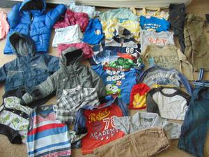 3-4 years old big bundle of clothes 30 items pick up PE3
