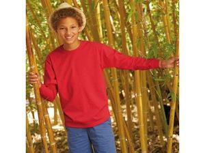 Fruit Of The Loom Childrens Long Sleeve T-Shirt in Camden
