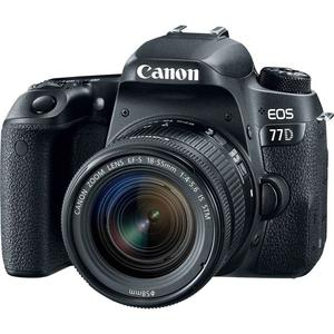 Canon EOS 77D with EF-S mm f4-5.6 STM lens