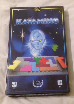 KATAMINO By DJ Games . Block Strategy Puzzle Design Game. Complete And VGC.