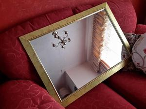 Large Gold Surround Mirror