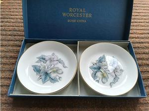 Royal Worcester Fine Bone China Dishes Boxed in Havant
